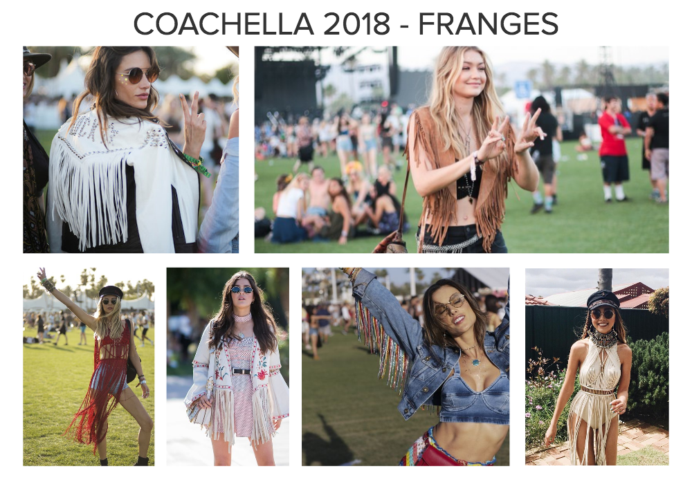 Moodboard suggestion franges coachella 2018