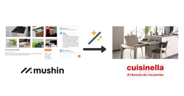 Challenge co-création Cuisinella Mushin